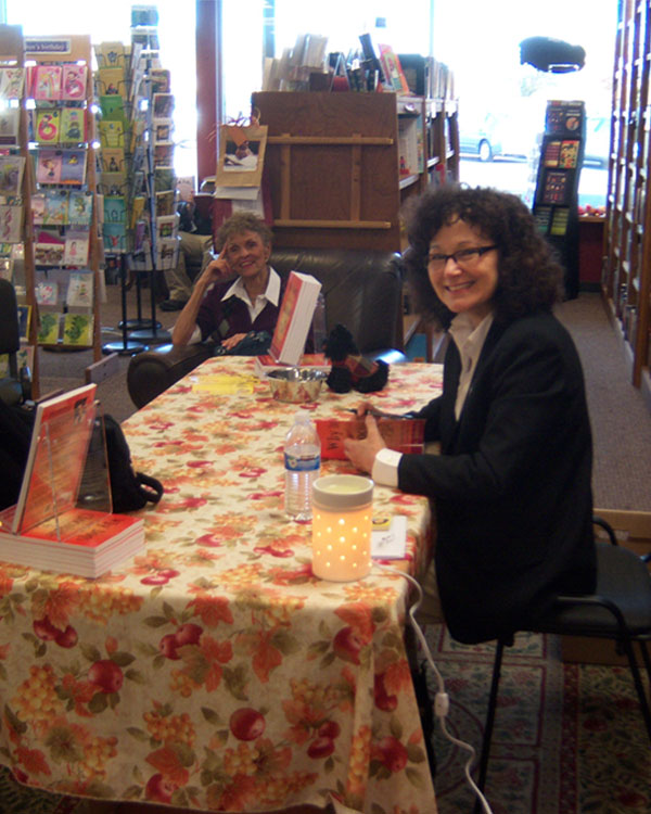 Dr. Louise at Inklings Bookshop