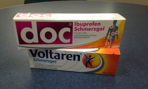 German Gels for Pain